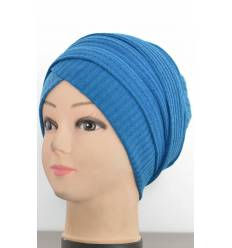 Turban Coton Strié