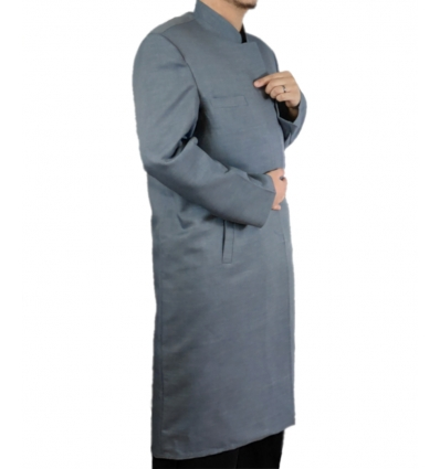 Jubba Billal Grise tenue d'imam