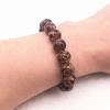 Bracelet style marbre marron