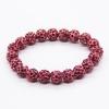 Bracelet style Shambala - rose fushia
