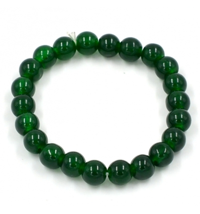 Bracelet pierre de cristal - vert