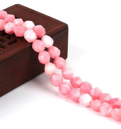 Perles Damas - rose pâle - Bracelet sur mesure