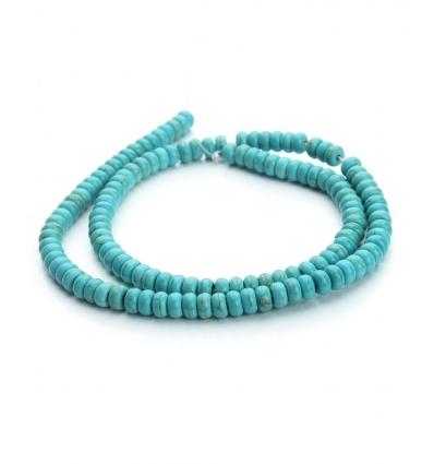 Perles Kuzco - bleu turquoise - Bracelet sur mesure