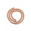 Perles Tripoli - champagne - Bracelet sur mesure