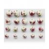 Perles Sydney - rose et blanc - Bracelet sur mesure