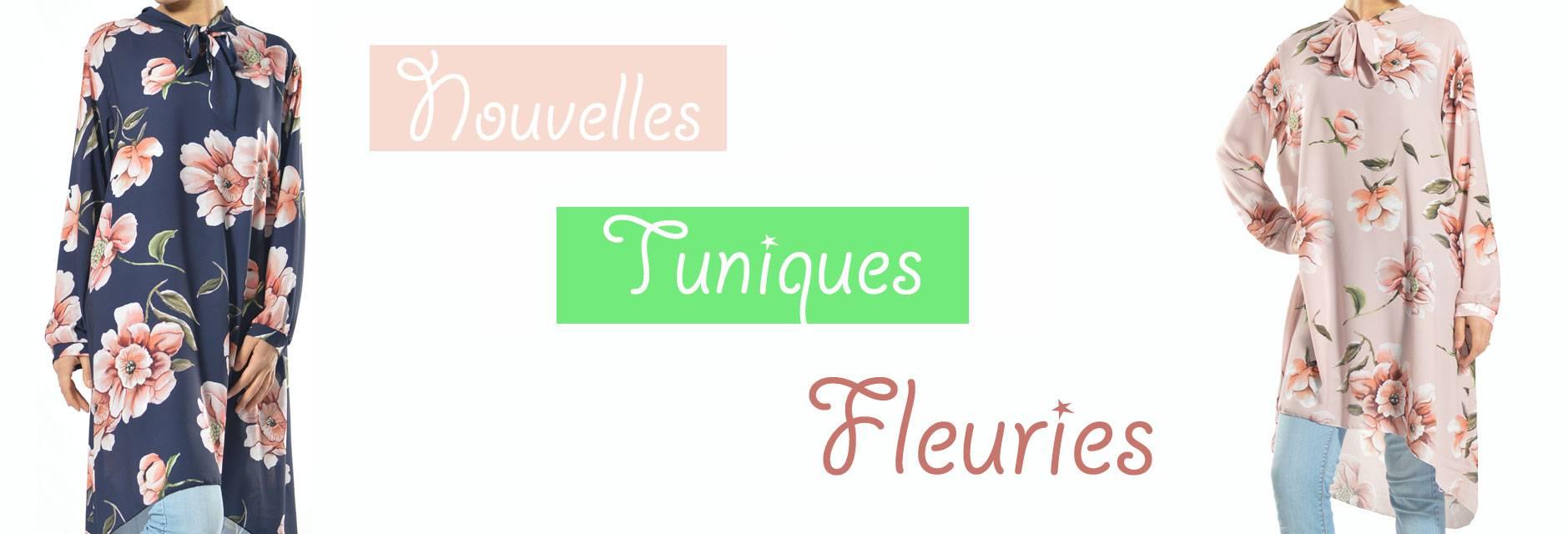 Tuniques Fleuries